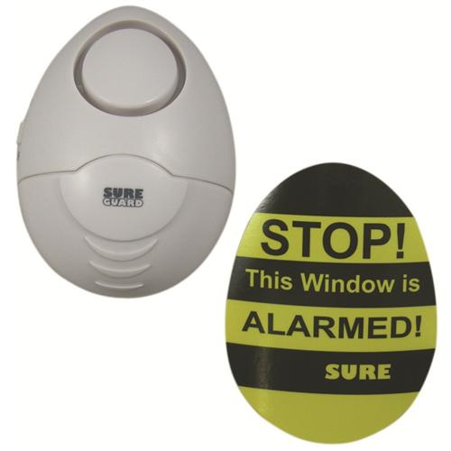 SURE SGGB-BX Door and Window Shock//Vibration Alarm 5 White